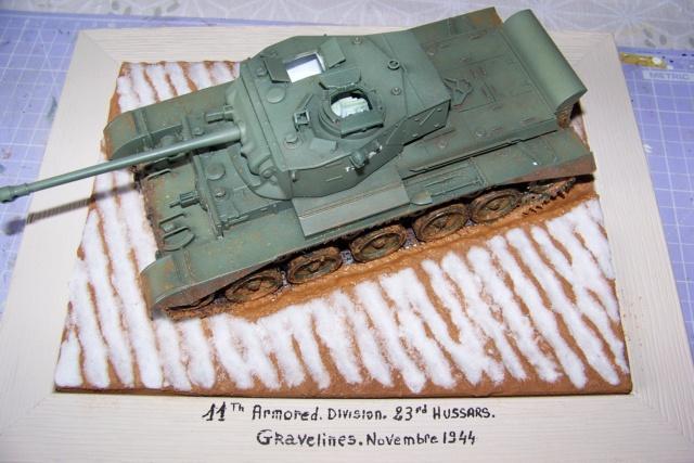 A-34 Comet 23 th Hussars ( Bronco 1/35) FINI. - Page 2 100_3818