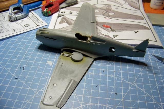 Curtiss H81A1(P40A)   Airfix 1/48 Fini 100_5116