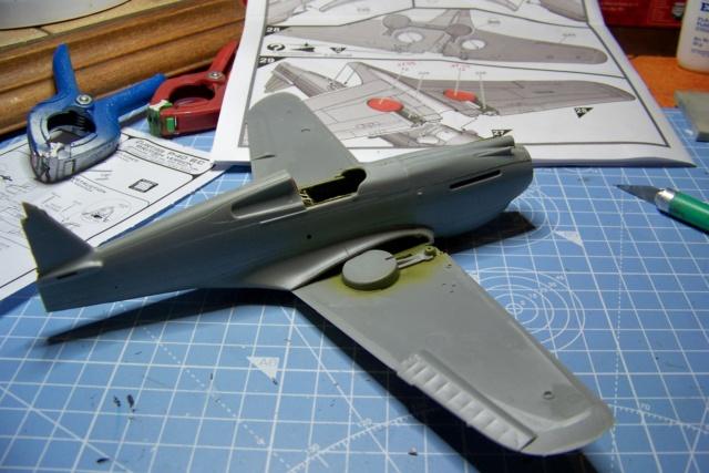 Curtiss H81A1(P40A)   Airfix 1/48 Fini 100_5118