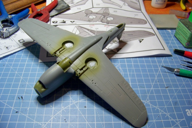 Curtiss H81A1(P40A)   Airfix 1/48 Fini 100_5119