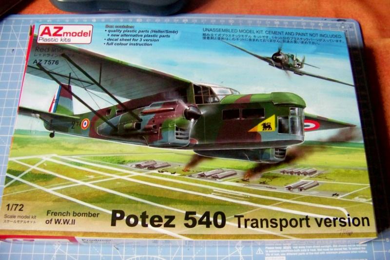 Fil rouge 2019 : Potez 540 T (AZ-Model/Heller 1/72) 100_5142