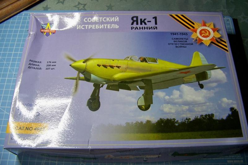 Défi Passion : Yak-1 Modelsvit 1/48 *** Terminé en pg 4 100_5237