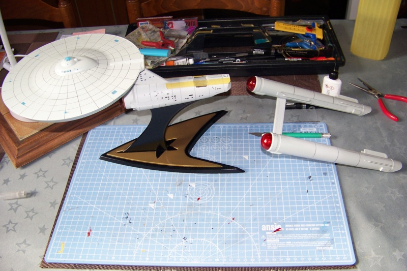 NCC 1657 (Revell 1/600) FINI - Page 2 100_5345