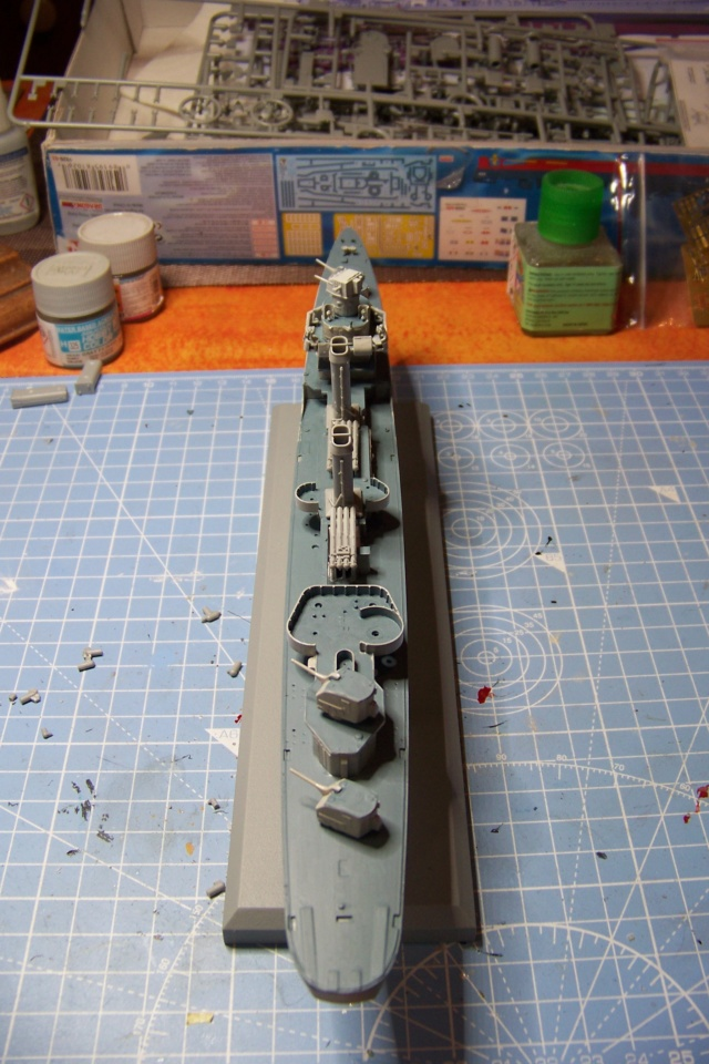 USS Murphy DD603 (Dragon 1/350 USS Laffey Classe Benson) 100_5346