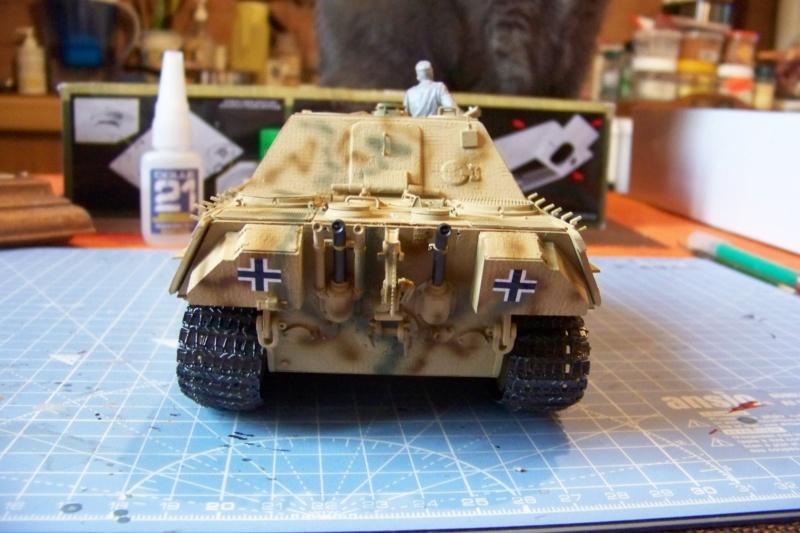 SdKfz 173:654th. Schwere Panzerjäger Abteilung   Normandie Juillet 1944 ( fertig ) 100_5354