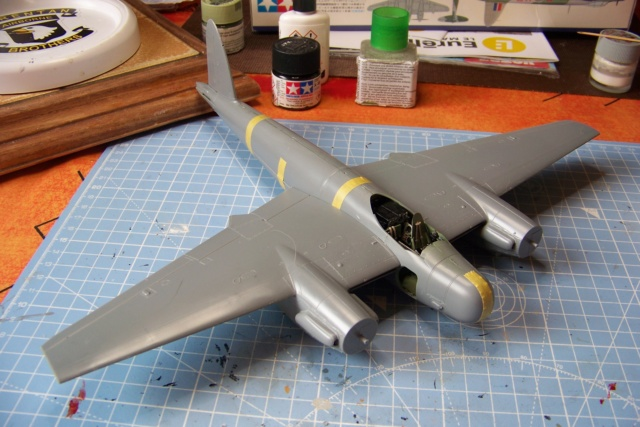 "DH 98 ""Mossie"" NF MK XIII 1/48  "" FINI ! "" 100_5623"