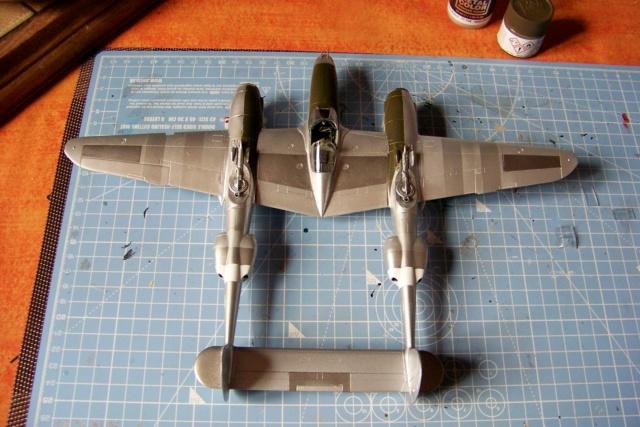 P-38J, ALG-A10 CATZ 07/44 ( Academy 1/48)( FINI ) - Page 2 100_5658