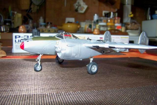 P-38J, ALG-A10 CATZ 07/44 ( Academy 1/48)( FINI ) - Page 3 100_5715