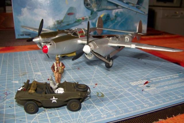P-38J, ALG-A10 CATZ 07/44 ( Academy 1/48)( FINI ) - Page 3 100_5723