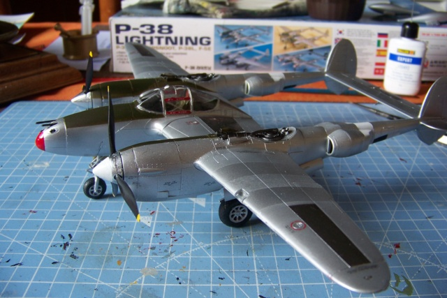 P-38J, ALG-A10 CATZ 07/44 ( Academy 1/48)( FINI ) - Page 3 100_5729