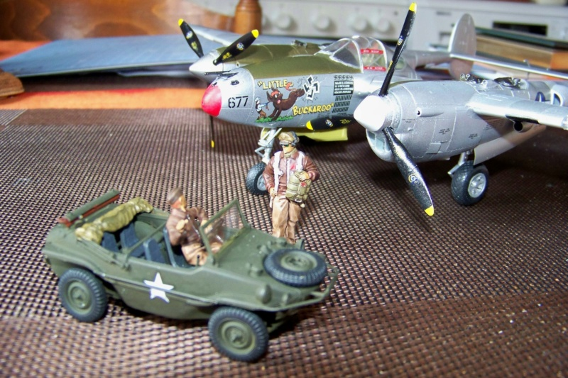 P-38J, ALG-A10 CATZ 07/44 ( Academy 1/48)( FINI ) - Page 4 100_5739