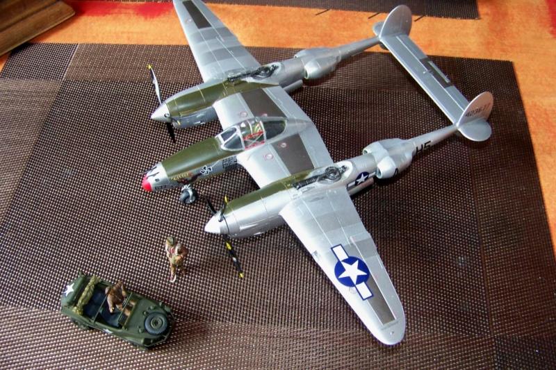 P-38J, ALG-A10 CATZ 07/44 ( Academy 1/48)( FINI ) - Page 4 100_5740