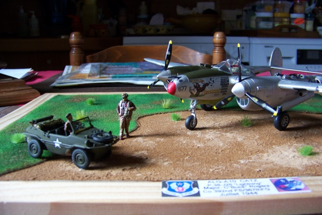 P-38J, ALG-A10 CATZ 07/44 ( Academy 1/48)( FINI ) - Page 4 100_5746