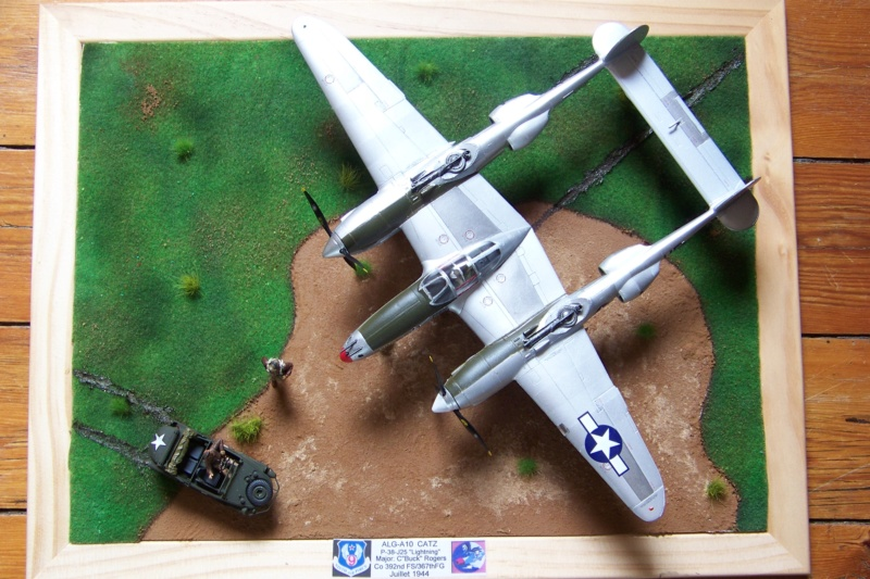 P-38J, ALG-A10 CATZ 07/44 ( Academy 1/48)( FINI ) - Page 4 100_5752