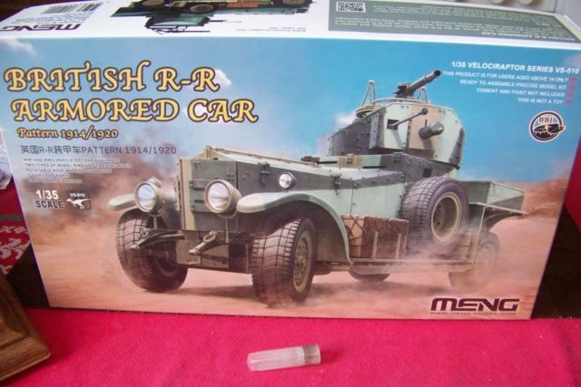 Rolls Royce British Armored Car  Meng 1/35 100_5772