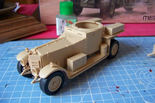 Rolls Royce British Armored Car  Meng 1/35 100_5773