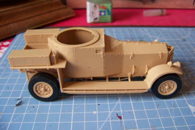 Rolls Royce British Armored Car  Meng 1/35 100_5775