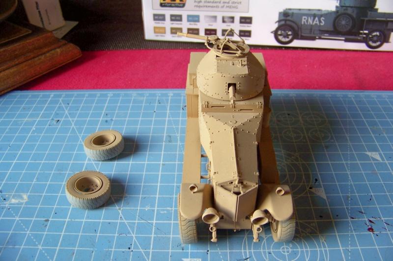 Rolls Royce British Armored Car  Meng 1/35 100_6110