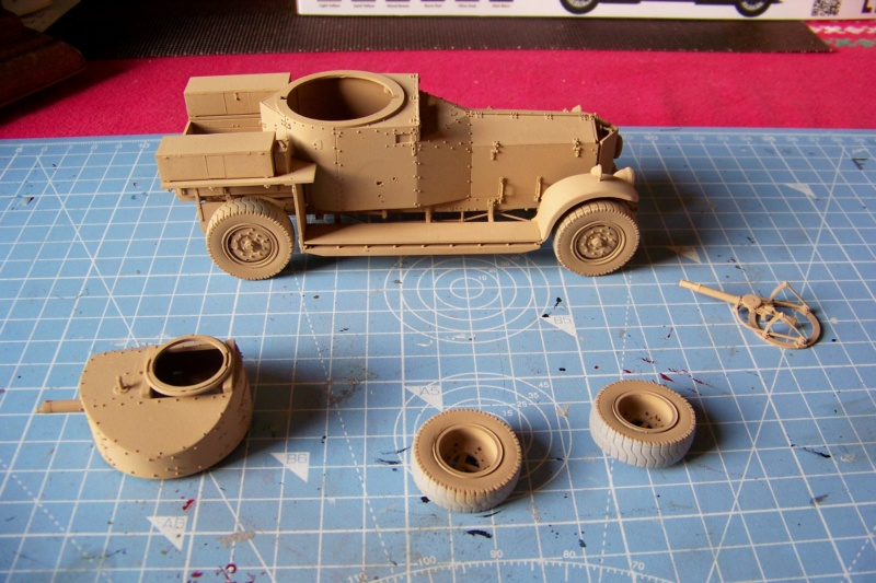 Rolls Royce British Armored Car  Meng 1/35 100_6112