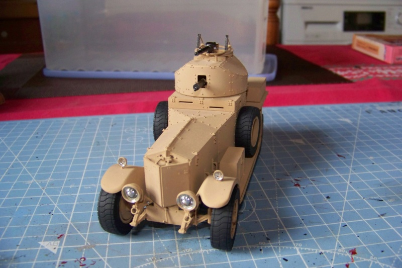 Rolls Royce British Armored Car  Meng 1/35 - Page 2 100_6211