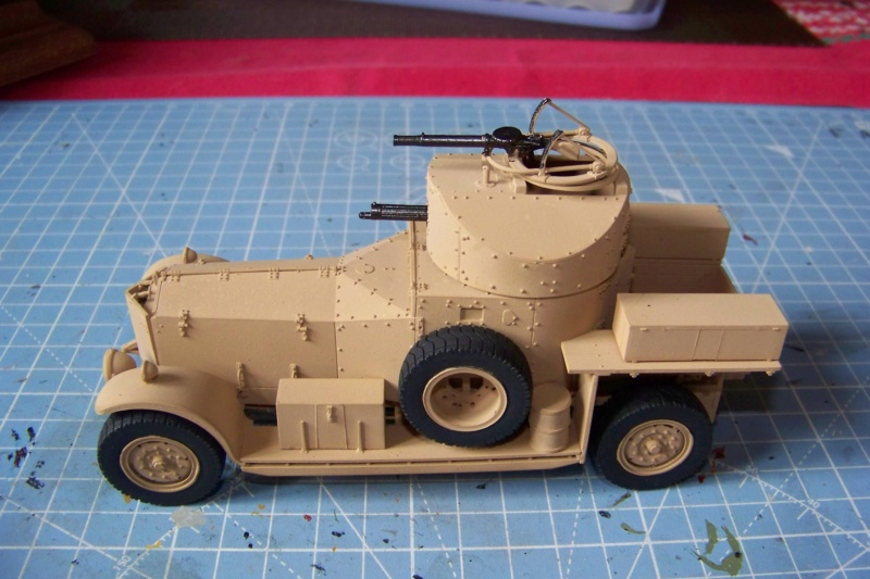 Rolls Royce British Armored Car  Meng 1/35 - Page 2 100_6212
