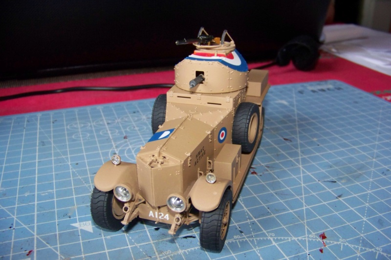 Rolls Royce British Armored Car  Meng 1/35 - Page 2 100_6216