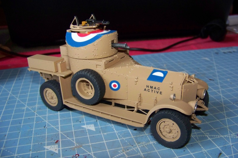 Rolls Royce British Armored Car  Meng 1/35 - Page 2 100_6217