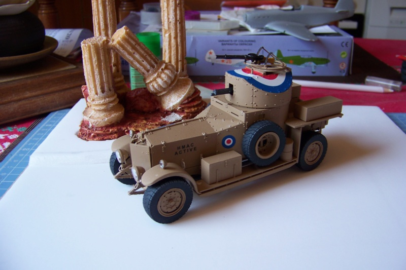 Rolls Royce British Armored Car  Meng 1/35 - Page 2 100_6234