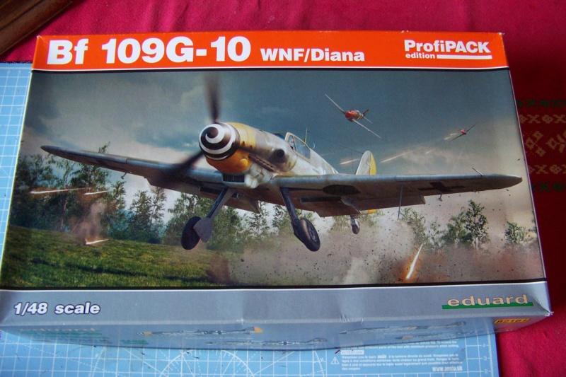 Me 109 G10 Eduard 1/48 (Fini) 100_6246