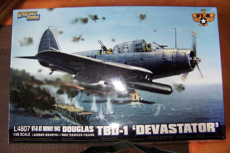 Devastator TBD-1 Bataille de la mer de Corail Mai 1942 ( GWH 1/48) 100_6286