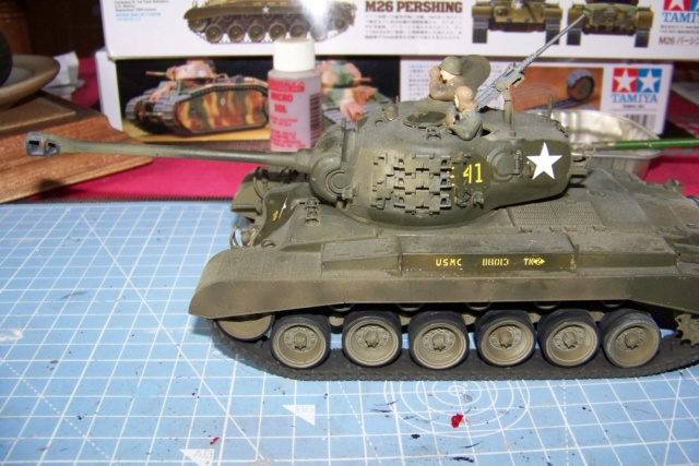 Bataille d'Incheon Sept 1950 Pershing M26 1/35 100_6711