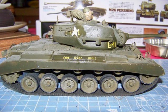 Bataille d'Incheon Sept 1950 Pershing M26 1/35 100_6713