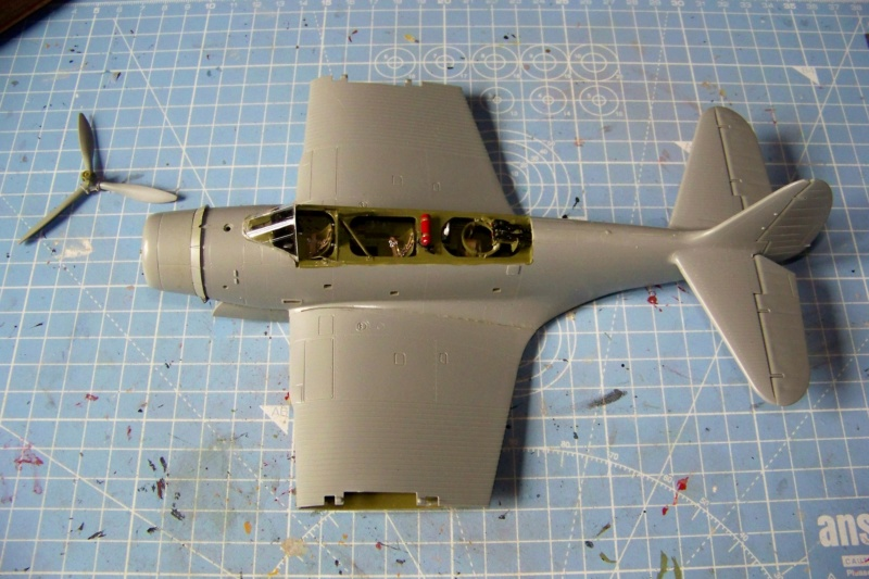 Devastator TBD-1 Bataille de la mer de Corail Mai 1942 ( GWH 1/48) 100_6729