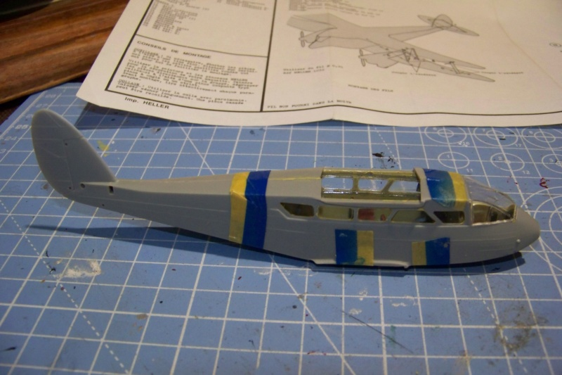 DH 89 Dragon rapide Heller 1/72 100_6831