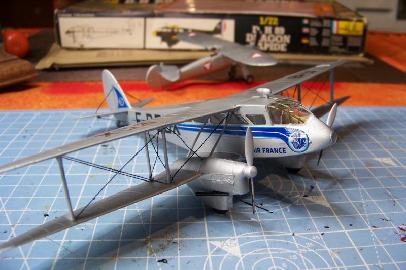 DH 89 Dragon rapide Heller 1/72 *** Terminé en pg 1 - Page 2 100_6870