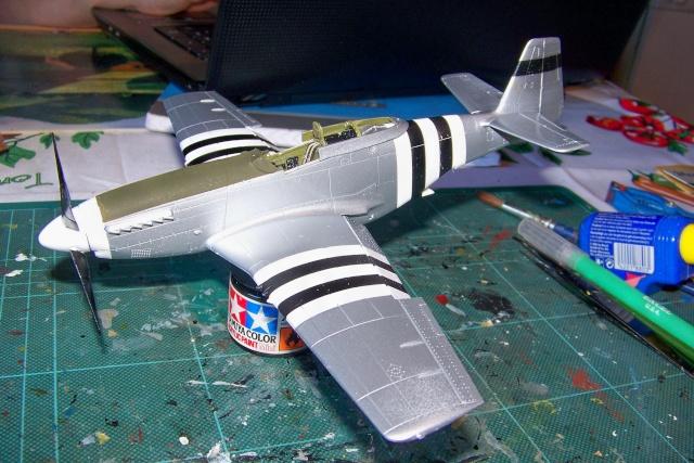 P-51D5 ICM 1/48  Lieutenant Charles H. SIMONSON, 356 FSq / 354 FGr (2013)FINI 100_7201