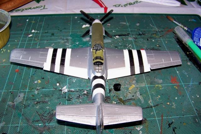 P-51D5 ICM 1/48  Lieutenant Charles H. SIMONSON, 356 FSq / 354 FGr (2013)FINI 100_7203