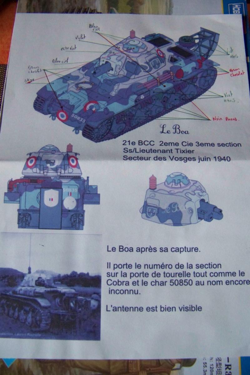 Fil rouge 2020 : Renault R-35 21 éme BCC Le BOA (1/35 hobby boss) *** Terminé en pg 6 100_7257