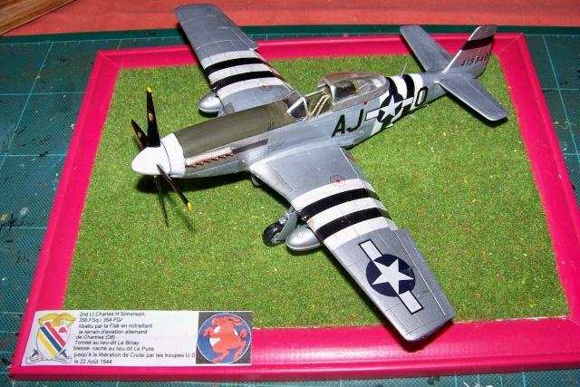 P-51D5 ICM 1/48  Lieutenant Charles H. SIMONSON, 356 FSq / 354 FGr (2013)FINI 100_7290