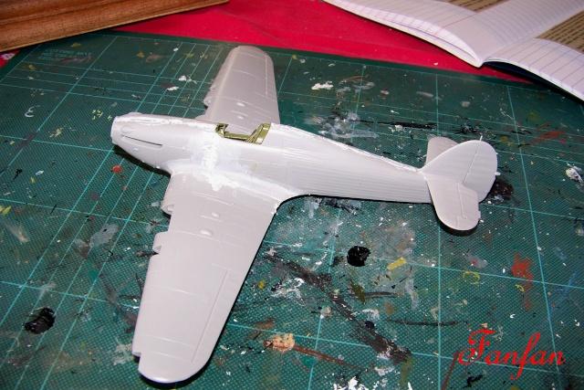 Hawker Hurricane MKIIc Hasegawa 1/48( Nov 2013 Fini)  100_7293