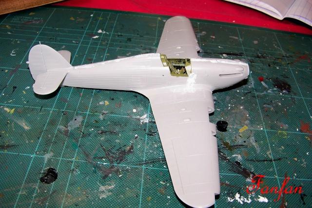 Hawker Hurricane MKIIc Hasegawa 1/48( Nov 2013 Fini)  100_7295