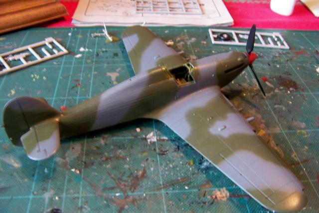 Hawker Hurricane MKIIc Hasegawa 1/48( Nov 2013 Fini)  100_7296