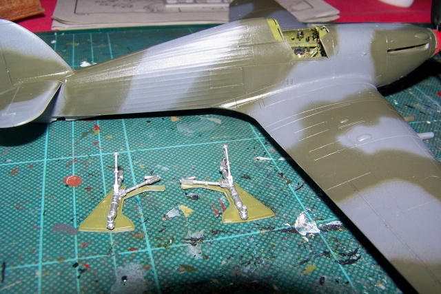 Hawker Hurricane MKIIc Hasegawa 1/48( Nov 2013 Fini)  100_7301