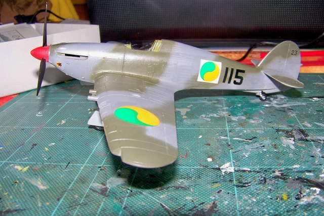 Hawker Hurricane MKIIc Hasegawa 1/48( Nov 2013 Fini)  100_7302