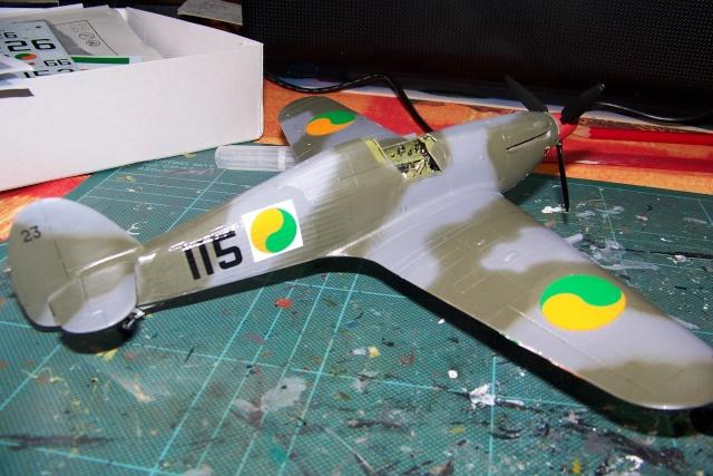 Hawker Hurricane MKIIc Hasegawa 1/48( Nov 2013 Fini)  100_7303