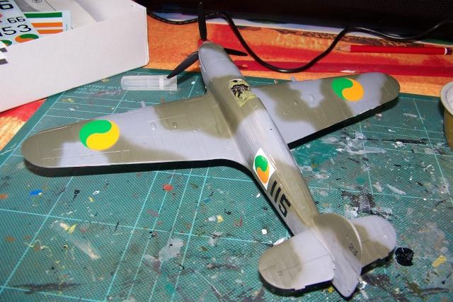 Hawker Hurricane MKIIc Hasegawa 1/48( Nov 2013 Fini)  100_7304