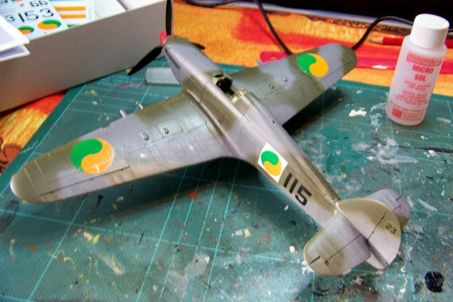 Hawker Hurricane MKIIc Hasegawa 1/48( Nov 2013 Fini)  100_7306