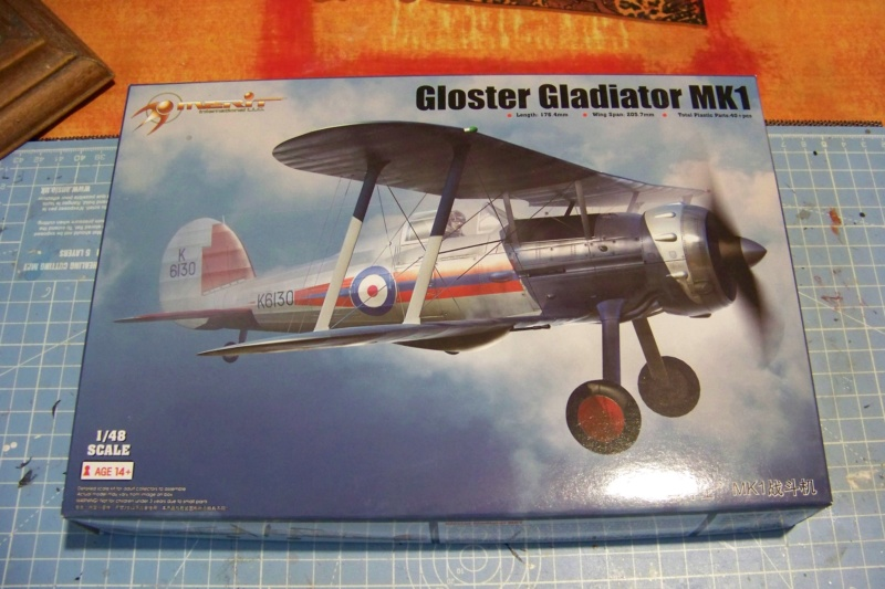 "Fil rouge 2020 : Gloster Gladiator MKI Jagevingen (Merit 1/48) ""Ferdig"" *** Terminé en pg 5 100_7353"