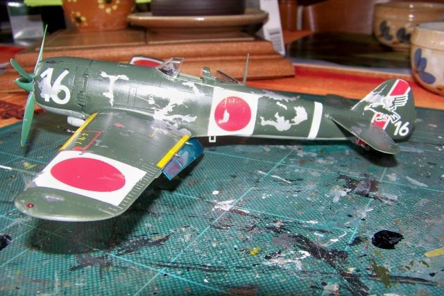 Nakajima Ki 84 疾風 Hayate (Hasegawa 1/48 Fini) Sept 1993 100_7407