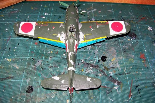 Nakajima Ki 84 疾風 Hayate (Hasegawa 1/48 Fini) Sept 1993 100_7408